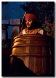 jack hidding in the barrel