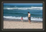 Chasing Steve on Coast Guard Beach