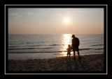 Steve and Norah at Duck Harbor Beach