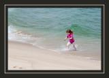 Wave fun at Head of Meadow Beach