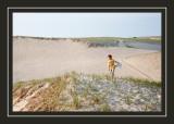 Norah at the dunes