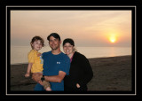 The family at Herring Cove