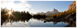 Lago Federa sunrise