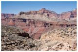 Steve and Norah continue on the South Kaibab trail
