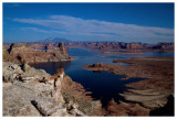 Lake Powell by moonlight