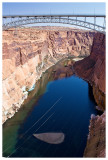 View from Glen Canyon Dam