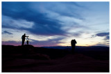 Photographers at Horseshoe Bend