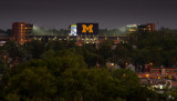 The Big House under lights