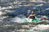 Run through the rapids