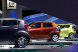 Trio of GM cars