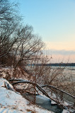 Very Cold Day At The River