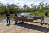 Boat At The Bayou