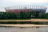 National Stadium And Vistula River