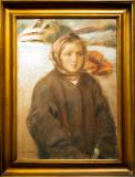 Portrait Of A Hutsul Girl