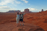Happy Together In Monument Valley