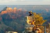 Sitting Over Grand Canyon - North Rim
