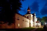 Sanctuary In Krasnobrod At Dusk