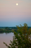 Moon Over The River