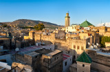 Roofs And Minarets Of Fes