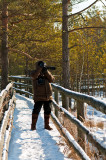 Shooting In Cold Winter
