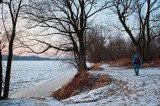 Winter Walk At The River