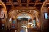 Wooden Church Interior