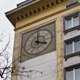 Clock With Mosaic