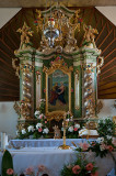 Church In Tarnowka - Altar