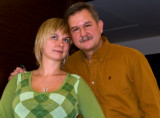 With Kasia, His Daughter