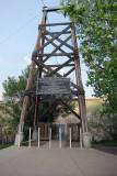 Star Coal Mine suspension bridge in AB