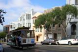 A street car in SF