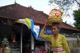 A woman in Bali