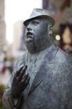 A bronze man @f1.1 NEX5