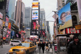 Times Square in N.Y.