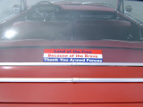 Favorite bumper sticker SUPPORT THE TROOPS