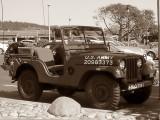 WWII Korean War era Army Jeep