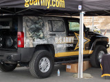 US Army Recruitment Hummer H3 Go Army