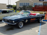 US Marine Corps 1967 Mustang convertible