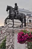 King Charles I statue