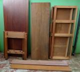 Mahogany table constituent parts (generic photo)