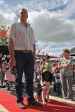 Wim en Sipke bij de rashondenparade