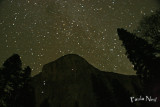 El Capitan climbers at night