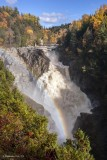 Canyon Saint Anne Falls, Quebec Canada