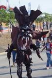 Diablo at play