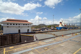 Powering out the Miraflores Lock