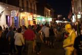 Night life on Bourbon St