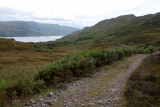 Looking west, Loch Morar