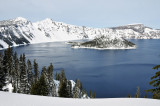 Crater Lake National Park, Feb 19, 2012