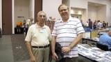 Joe Collias (left) and Pat Wider