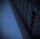 dusk, 2ifc and an aeroplane